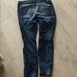 7 For All Mankind Jeans - 7 for all mankind skinny jeans